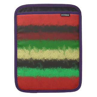 Colorful line pattern sleeve for iPads