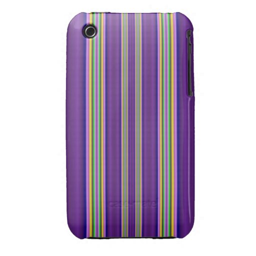 colorful line pattern iPhone 3 cover