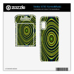 Colorful line pattern nokia 5730 skins