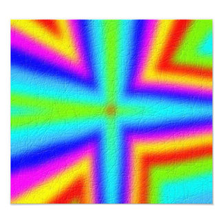 Colorful Line Pattern Photograph