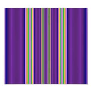 colorful line pattern photo art