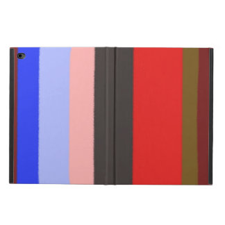 Colorful line pattern powis iPad air 2 case