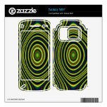 Colorful line pattern skin for nokia n97