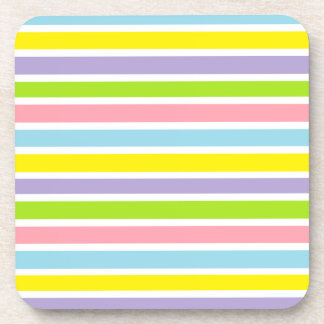 Colorful Lines Beverage Coaster