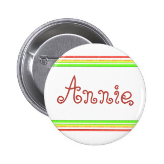 colorful lines 2 inch round button