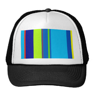 Colorful lines - design by Moma Trucker Hat