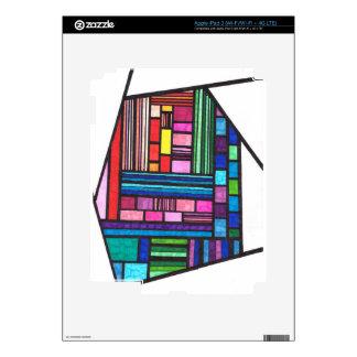 Colorful Lines iPad 3 Skins