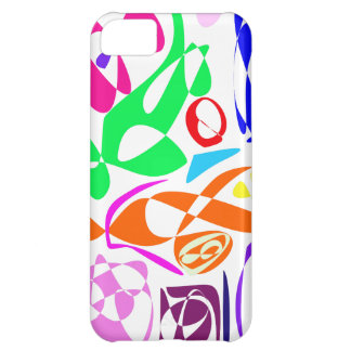 Colorful Lines iPhone 5C Case