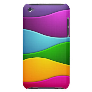 Colorful lines iPod Case-Mate case