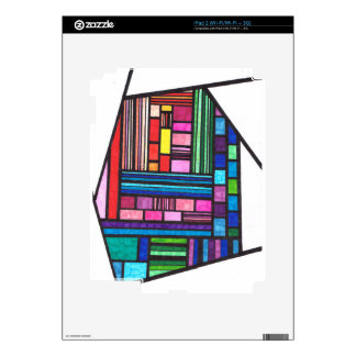 Colorful Lines Skin For iPad 2