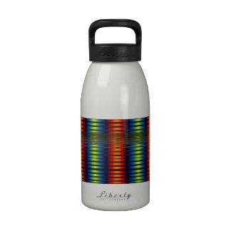 Colorful lines Water Bottle