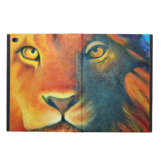 Colorful Lion Head Portrait Oil Painting Powis iPad Air 2 Case