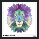 "Colorful Lion Wall Decal<br><div class=""desc"">Colorful Lion Wall Decal. Purchase yourself a bunch of  wall decals from Zazzle. Our wall stickers are great for any room in your home or office.</div>"