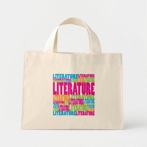Colorful Literature Mini Tote Bag