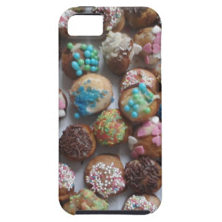 colorful little birthday cakes, food, party cake iPhone SE/5/5s case