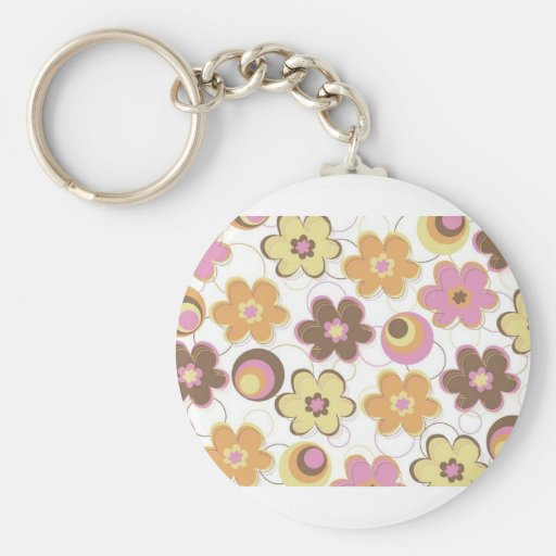 Colorful Little Flowers Keychains