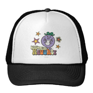 Colorful Little Miss Naughty Trucker Hat