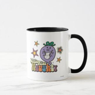 Colorful Little Miss Naughty Mug