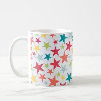 Colorful Little Stars Coffee Mug