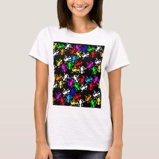 Colorful lizards - pattern T-Shirt