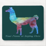 Colorful Llamas Mousepads