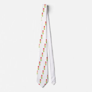 Colorful lollipop neck tie