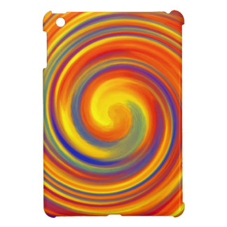 Colorful Lollipop Whirl Wind iPad Mini Case Cover