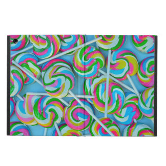 Colorful lollipops pattern cover for iPad air