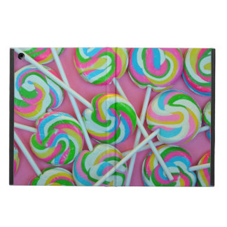 Colorful lollipops pattern iPad air cases
