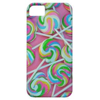 Colorful lollipops pattern iPhone SE/5/5s case