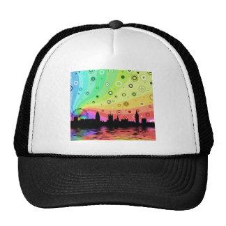 Colorful London Trucker Hat
