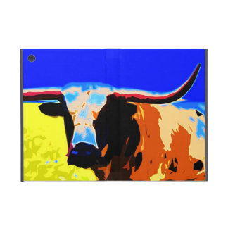 Colorful Longhorn iPad Cover