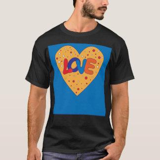 Colorful Love Design T-Shirt