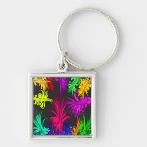 Colorful Love_ Key Chain