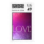 Colorful Love Stamp