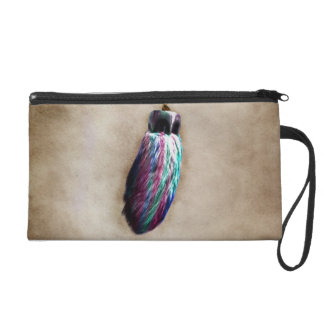 Colorful Lucky Rabbit s Foot Wristlets