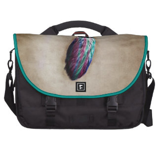 Colorful Lucky Rabbit s Foot Commuter Bag