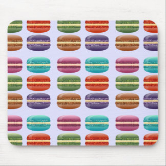 Colorful Macarons Mouse Pad