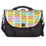 Colorful Macarons Stack Pattern Commuter Bag