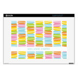 Colorful Macarons Stack Pattern Skin For Laptop