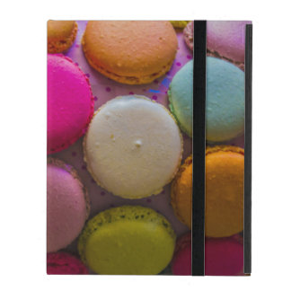 Colorful Macarons Tasty Baked Dessert iPad Cases