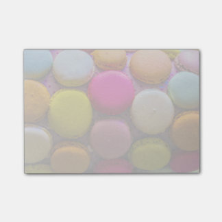 Colorful Macarons Tasty Baked Dessert Post-it® Notes