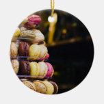 Colorful Macarons Tower Christmas Ornaments