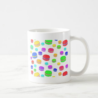Colorful macaroons coffee mug