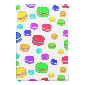 Colorful macaroons iPad mini covers