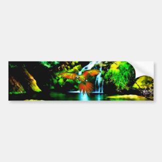 Colorful Macaw Bumper Sticker