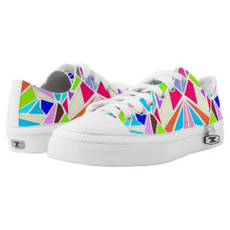 Colorful Machaon Low-Top Sneakers