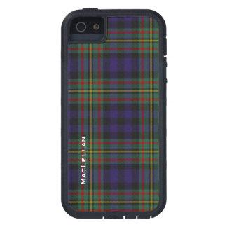 Colorful MacLellan Clan Tartan Plaid iPhone SE/5/5s Case