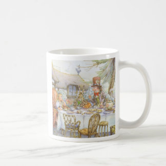 Colorful Mad Hatter's Tea Party Coffee Mugs