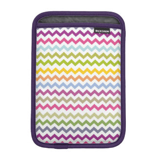 Colorful Made of Zig Zag Stripes iPad Mini Sleeves
